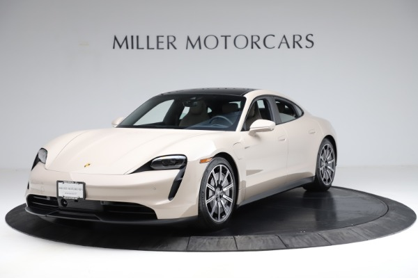 Used 2021 Porsche Taycan 4S for sale Sold at McLaren Greenwich in Greenwich CT 06830 1