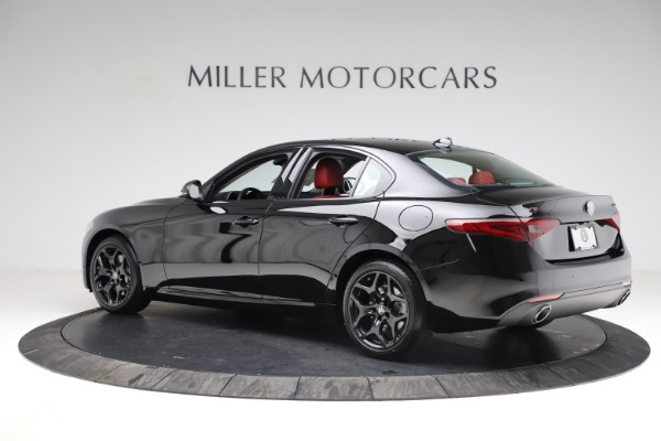 New 2021 Alfa Romeo Giulia Q4 for sale $48,535 at McLaren Greenwich in Greenwich CT 06830 4