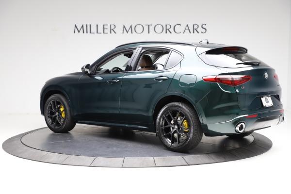 New 2021 Alfa Romeo Stelvio Ti Q4 for sale $53,650 at McLaren Greenwich in Greenwich CT 06830 4