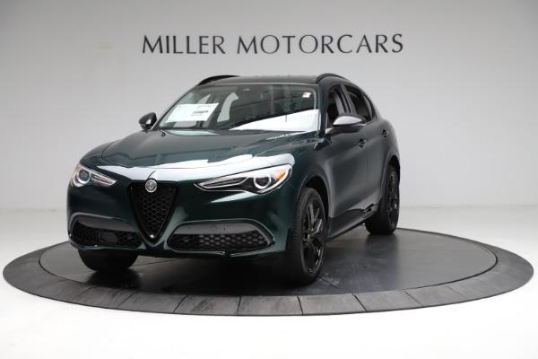 New 2021 Alfa Romeo Stelvio Ti Q4 for sale $53,650 at McLaren Greenwich in Greenwich CT 06830 1