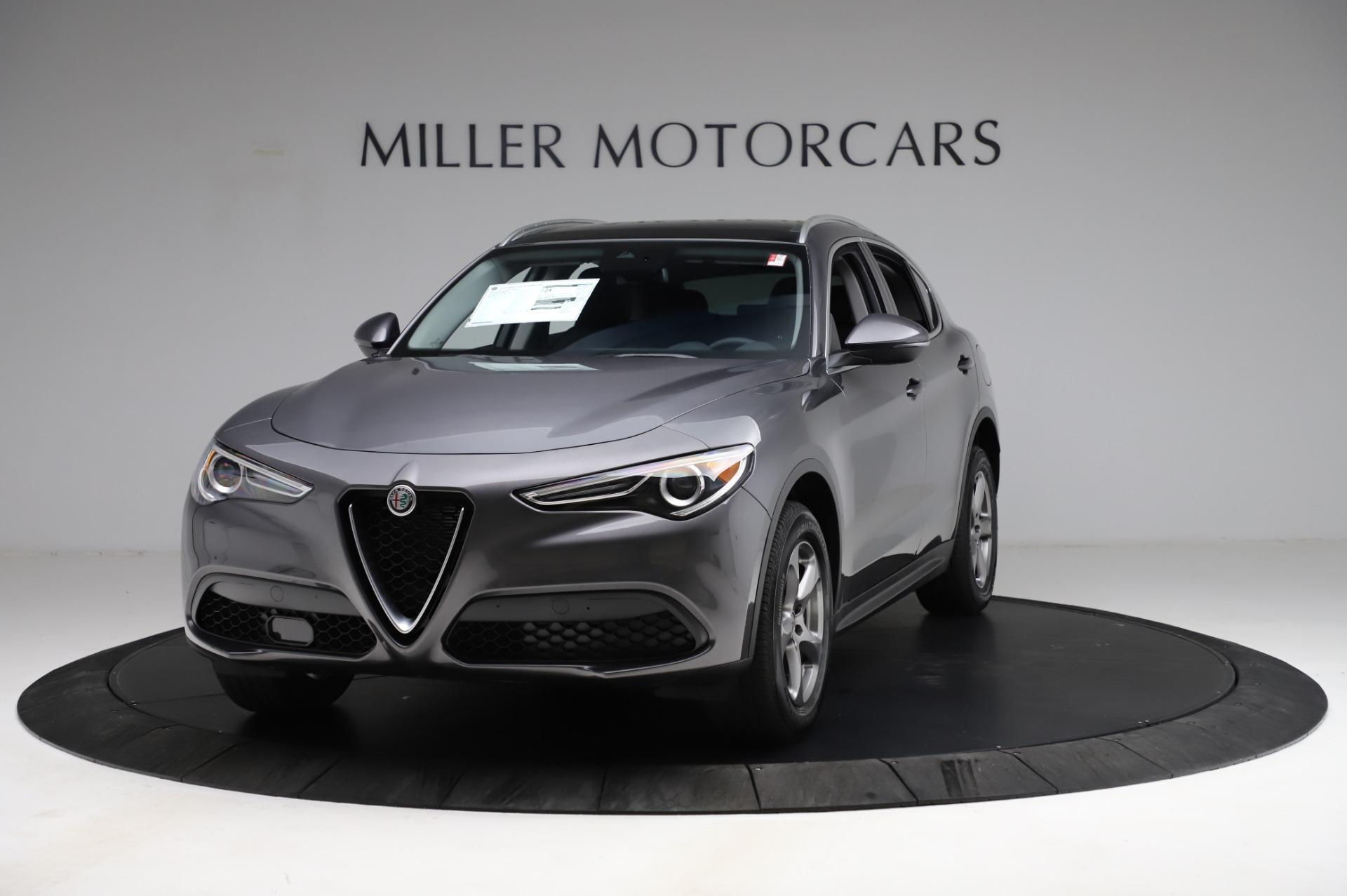 New 2021 Alfa Romeo Stelvio Q4 for sale $48,900 at McLaren Greenwich in Greenwich CT 06830 1