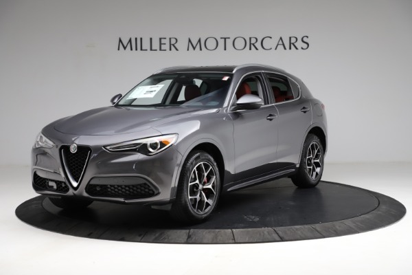 New 2021 Alfa Romeo Stelvio Ti Q4 for sale $55,500 at McLaren Greenwich in Greenwich CT 06830 2