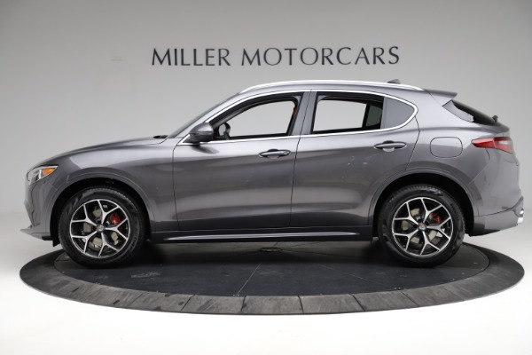 New 2021 Alfa Romeo Stelvio Ti Q4 for sale $55,500 at McLaren Greenwich in Greenwich CT 06830 3