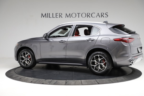 New 2021 Alfa Romeo Stelvio Ti Q4 for sale $55,500 at McLaren Greenwich in Greenwich CT 06830 4