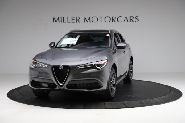 New 2021 Alfa Romeo Stelvio Ti Q4 for sale $55,500 at McLaren Greenwich in Greenwich CT 06830 1