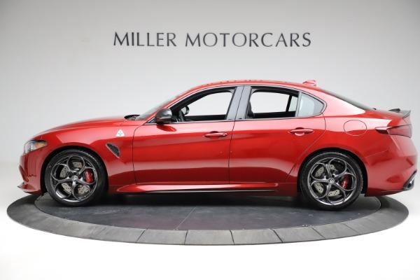 New 2021 Alfa Romeo Giulia Quadrifoglio for sale Sold at McLaren Greenwich in Greenwich CT 06830 2