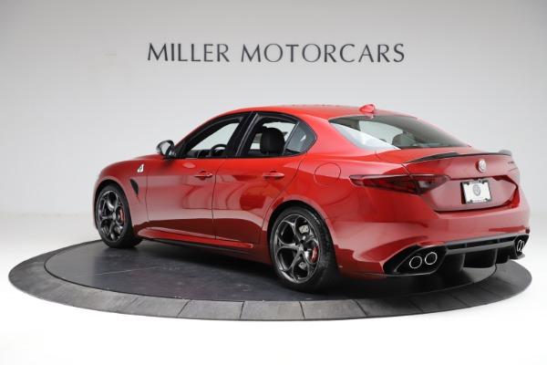 New 2021 Alfa Romeo Giulia Quadrifoglio for sale Sold at McLaren Greenwich in Greenwich CT 06830 3