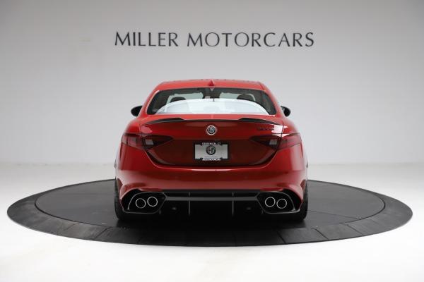 New 2021 Alfa Romeo Giulia Quadrifoglio for sale Sold at McLaren Greenwich in Greenwich CT 06830 4