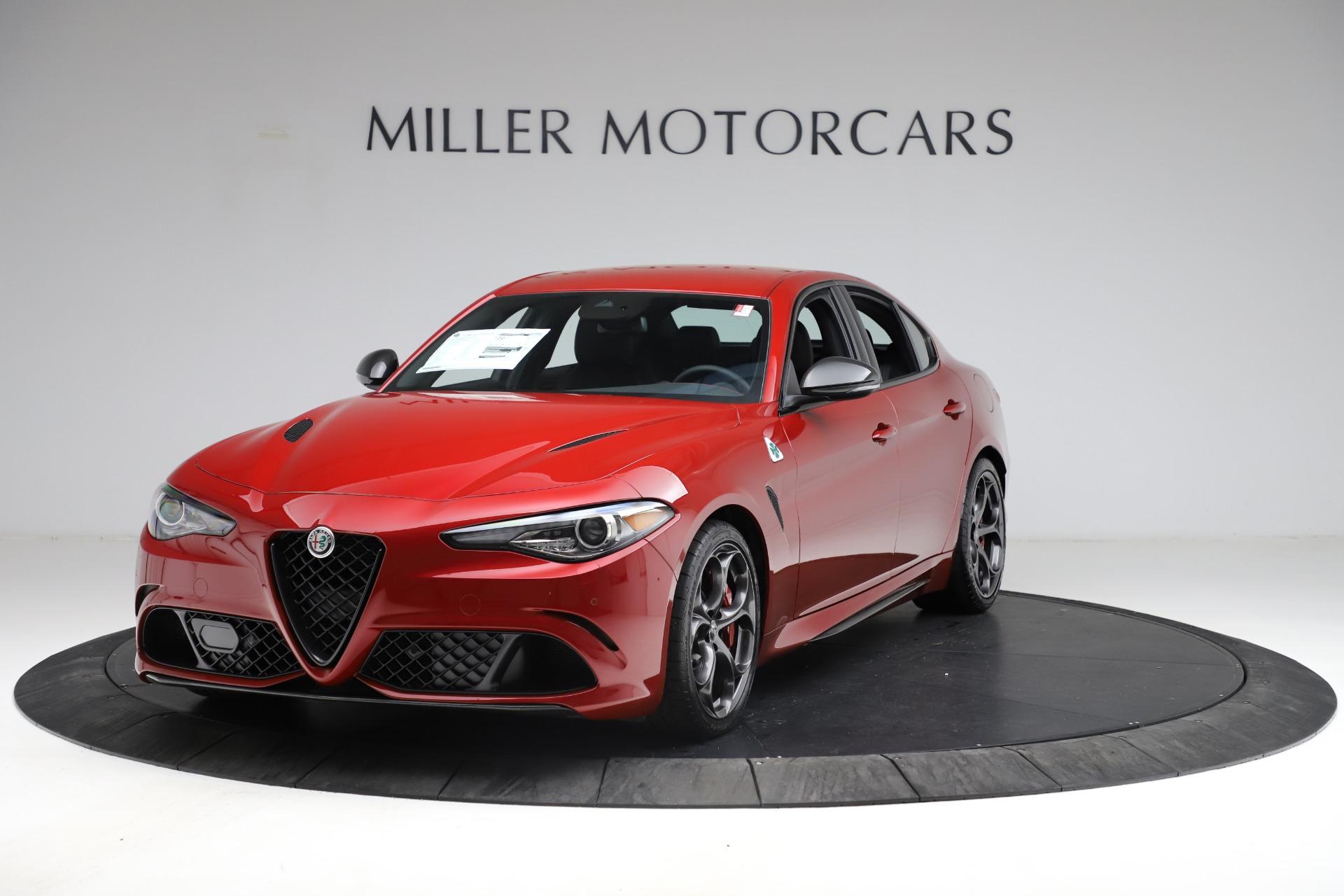 New 2021 Alfa Romeo Giulia Quadrifoglio for sale Sold at McLaren Greenwich in Greenwich CT 06830 1