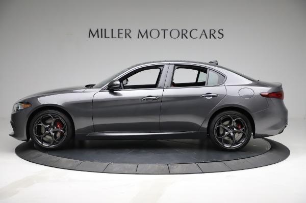 New 2021 Alfa Romeo Giulia Ti Sport for sale $54,050 at McLaren Greenwich in Greenwich CT 06830 3