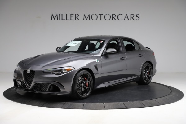 New 2021 Alfa Romeo Giulia Quadrifoglio for sale $83,200 at McLaren Greenwich in Greenwich CT 06830 2