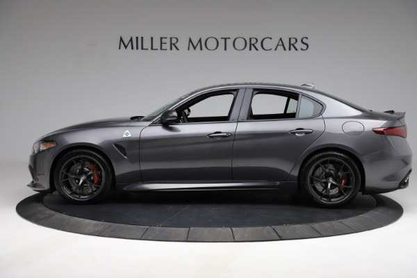 New 2021 Alfa Romeo Giulia Quadrifoglio for sale $83,200 at McLaren Greenwich in Greenwich CT 06830 3