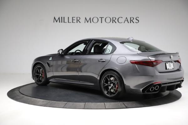 New 2021 Alfa Romeo Giulia Quadrifoglio for sale $83,200 at McLaren Greenwich in Greenwich CT 06830 4