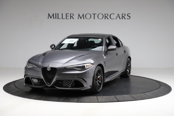 New 2021 Alfa Romeo Giulia Quadrifoglio for sale $83,200 at McLaren Greenwich in Greenwich CT 06830 1