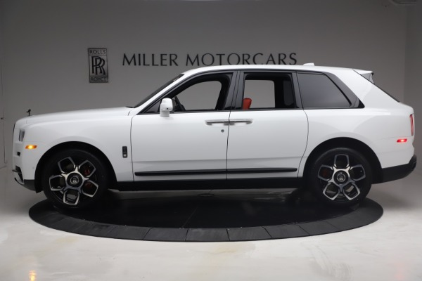 New 2021 Rolls-Royce Cullinan Black Badge for sale Call for price at McLaren Greenwich in Greenwich CT 06830 4