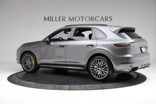 Used 2020 Porsche Cayenne Turbo for sale $145,900 at McLaren Greenwich in Greenwich CT 06830 4