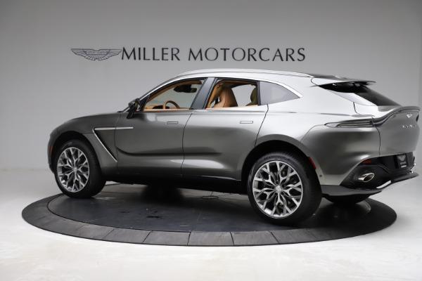 New 2021 Aston Martin DBX for sale $211,486 at McLaren Greenwich in Greenwich CT 06830 3