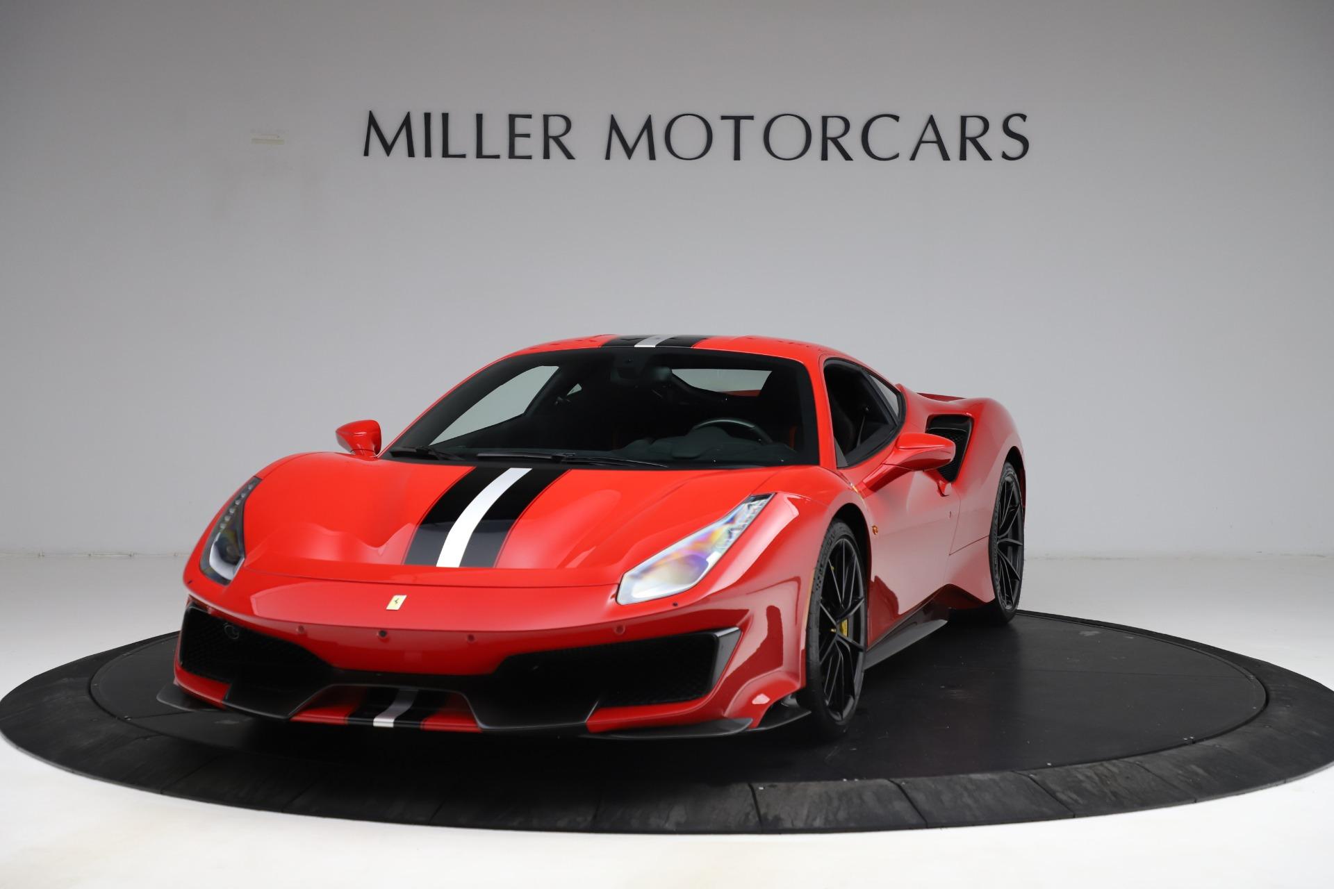 Used 2020 Ferrari 488 Pista for sale $469,900 at McLaren Greenwich in Greenwich CT 06830 1