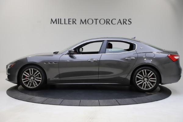 Used 2018 Maserati Ghibli SQ4 GranLusso for sale $55,900 at McLaren Greenwich in Greenwich CT 06830 3