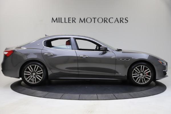 Used 2018 Maserati Ghibli SQ4 GranLusso for sale $55,900 at McLaren Greenwich in Greenwich CT 06830 4