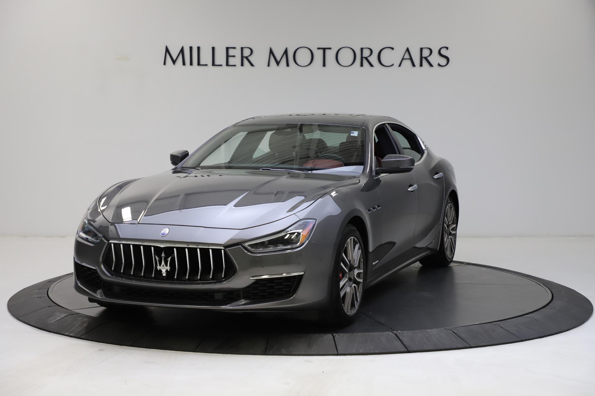Used 2018 Maserati Ghibli SQ4 GranLusso for sale $55,900 at McLaren Greenwich in Greenwich CT 06830 1