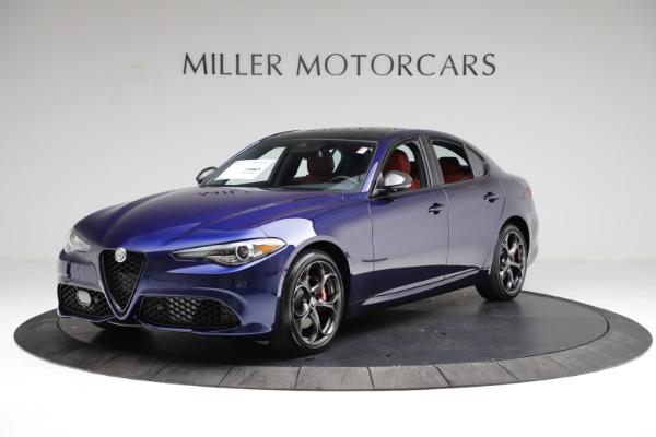 New 2021 Alfa Romeo Giulia Ti Sport for sale $54,050 at McLaren Greenwich in Greenwich CT 06830 2