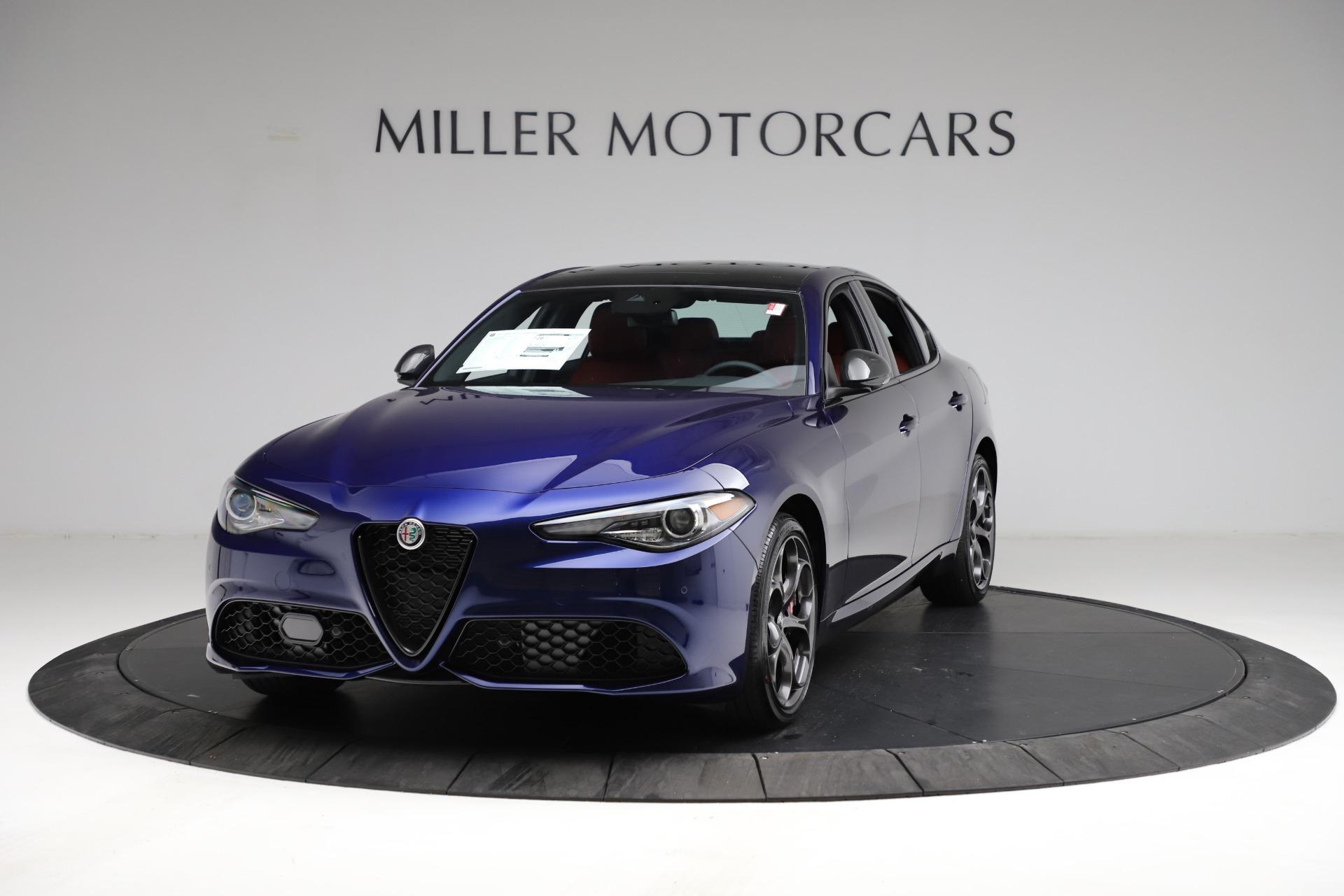 New 2021 Alfa Romeo Giulia Ti Sport for sale $54,050 at McLaren Greenwich in Greenwich CT 06830 1