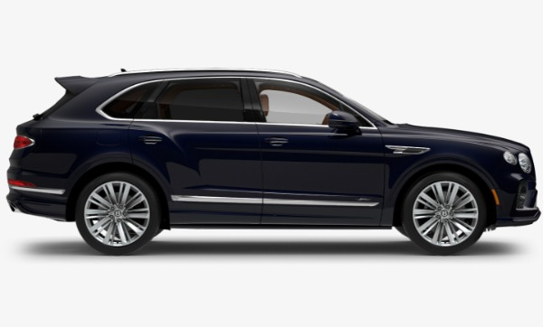 New 2021 Bentley Bentayga Speed for sale Call for price at McLaren Greenwich in Greenwich CT 06830 2