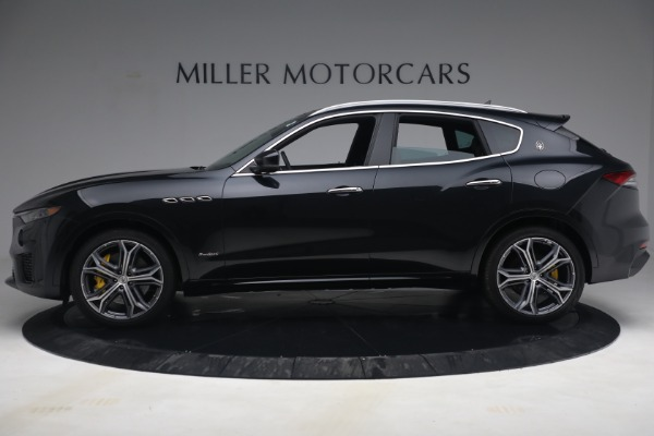 New 2021 Maserati Levante S Q4 GranSport for sale Call for price at McLaren Greenwich in Greenwich CT 06830 3