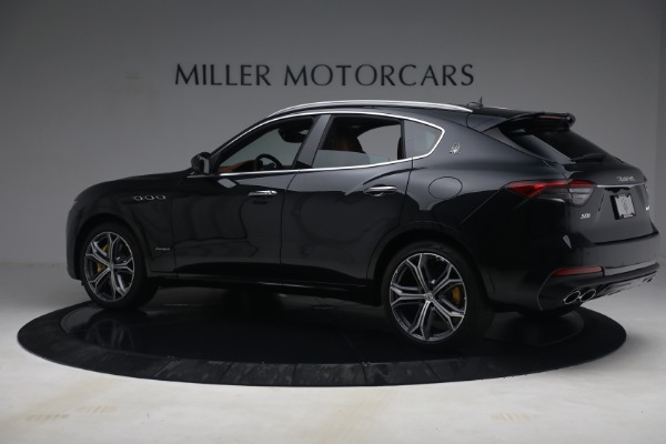 New 2021 Maserati Levante S Q4 GranSport for sale Call for price at McLaren Greenwich in Greenwich CT 06830 4