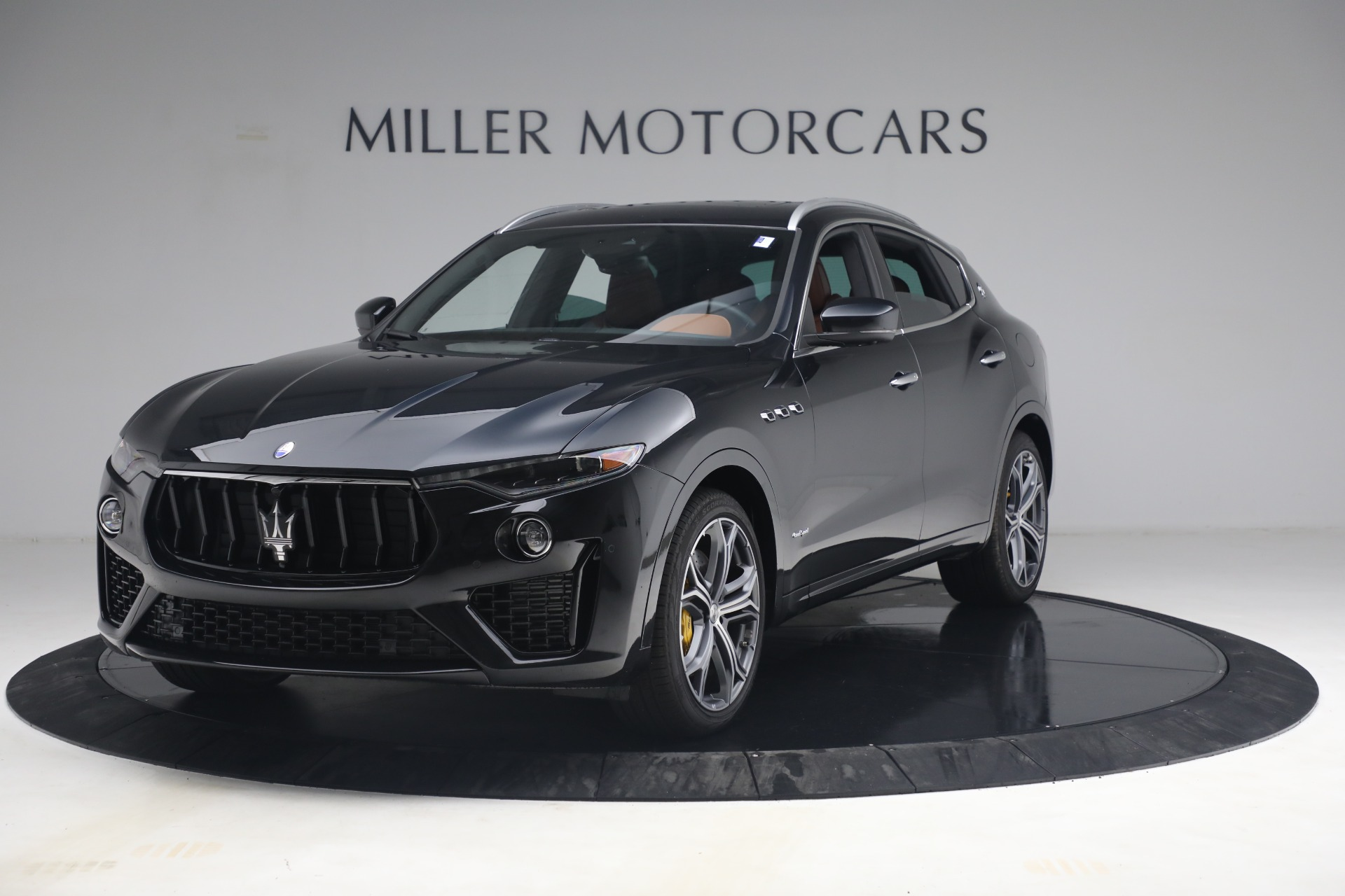 New 2021 Maserati Levante S Q4 GranSport for sale Call for price at McLaren Greenwich in Greenwich CT 06830 1