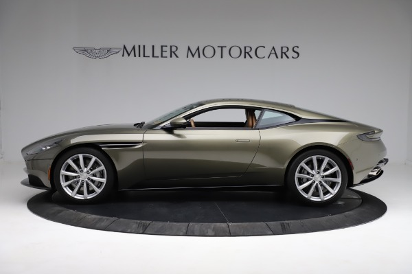 Used 2018 Aston Martin DB11 V8 for sale $151,900 at McLaren Greenwich in Greenwich CT 06830 2