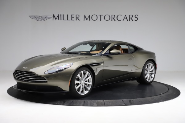 Used 2018 Aston Martin DB11 V8 for sale $151,900 at McLaren Greenwich in Greenwich CT 06830 1