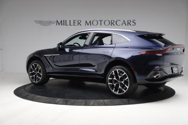 New 2021 Aston Martin DBX for sale $213,086 at McLaren Greenwich in Greenwich CT 06830 3
