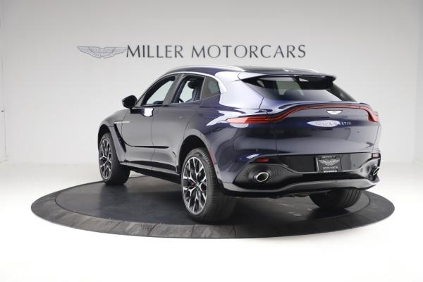 New 2021 Aston Martin DBX for sale $213,086 at McLaren Greenwich in Greenwich CT 06830 4