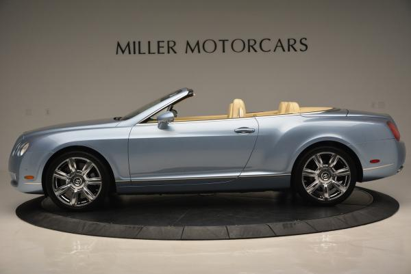 Used 2007 Bentley Continental GTC for sale Sold at McLaren Greenwich in Greenwich CT 06830 3