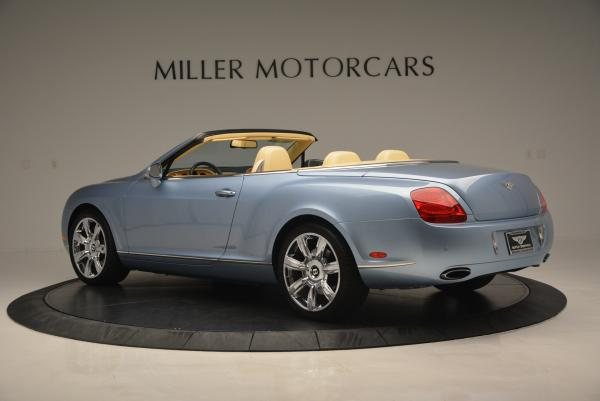 Used 2007 Bentley Continental GTC for sale Sold at McLaren Greenwich in Greenwich CT 06830 4