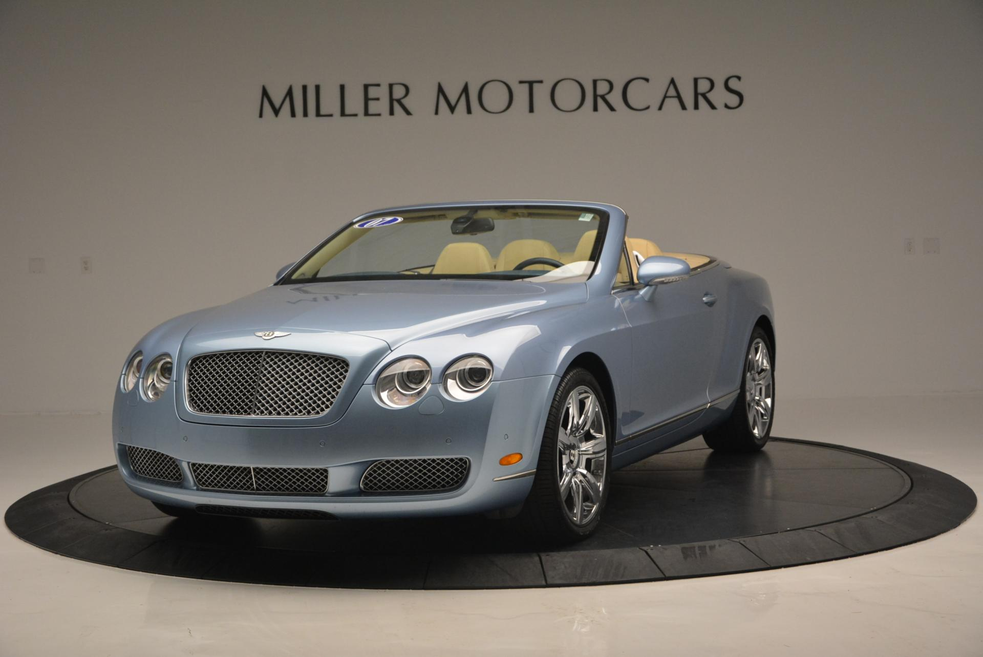 Used 2007 Bentley Continental GTC for sale Sold at McLaren Greenwich in Greenwich CT 06830 1