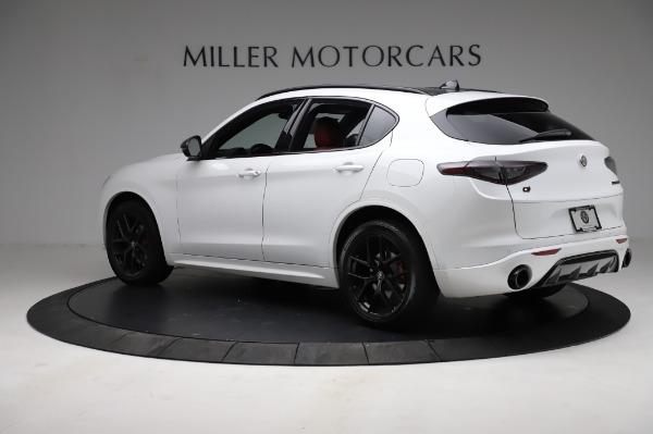 New 2021 Alfa Romeo Stelvio Ti Sport Q4 for sale $56,240 at McLaren Greenwich in Greenwich CT 06830 4