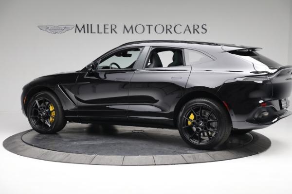 New 2021 Aston Martin DBX for sale $209,686 at McLaren Greenwich in Greenwich CT 06830 3