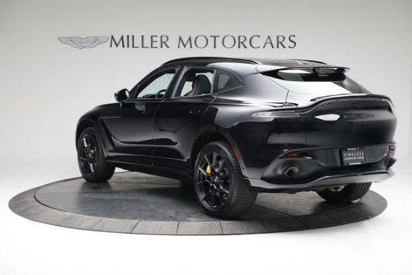 New 2021 Aston Martin DBX for sale $209,686 at McLaren Greenwich in Greenwich CT 06830 4