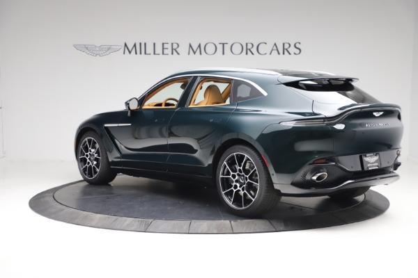 New 2021 Aston Martin DBX for sale $214,986 at McLaren Greenwich in Greenwich CT 06830 3