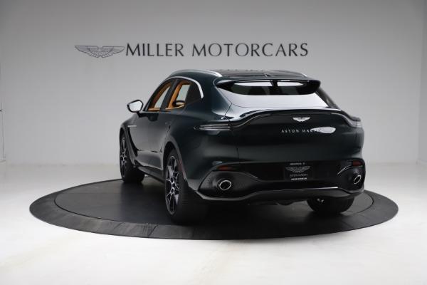 New 2021 Aston Martin DBX for sale $214,986 at McLaren Greenwich in Greenwich CT 06830 4
