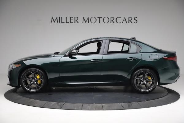 New 2021 Alfa Romeo Giulia Ti Sport Q4 for sale $54,050 at McLaren Greenwich in Greenwich CT 06830 3