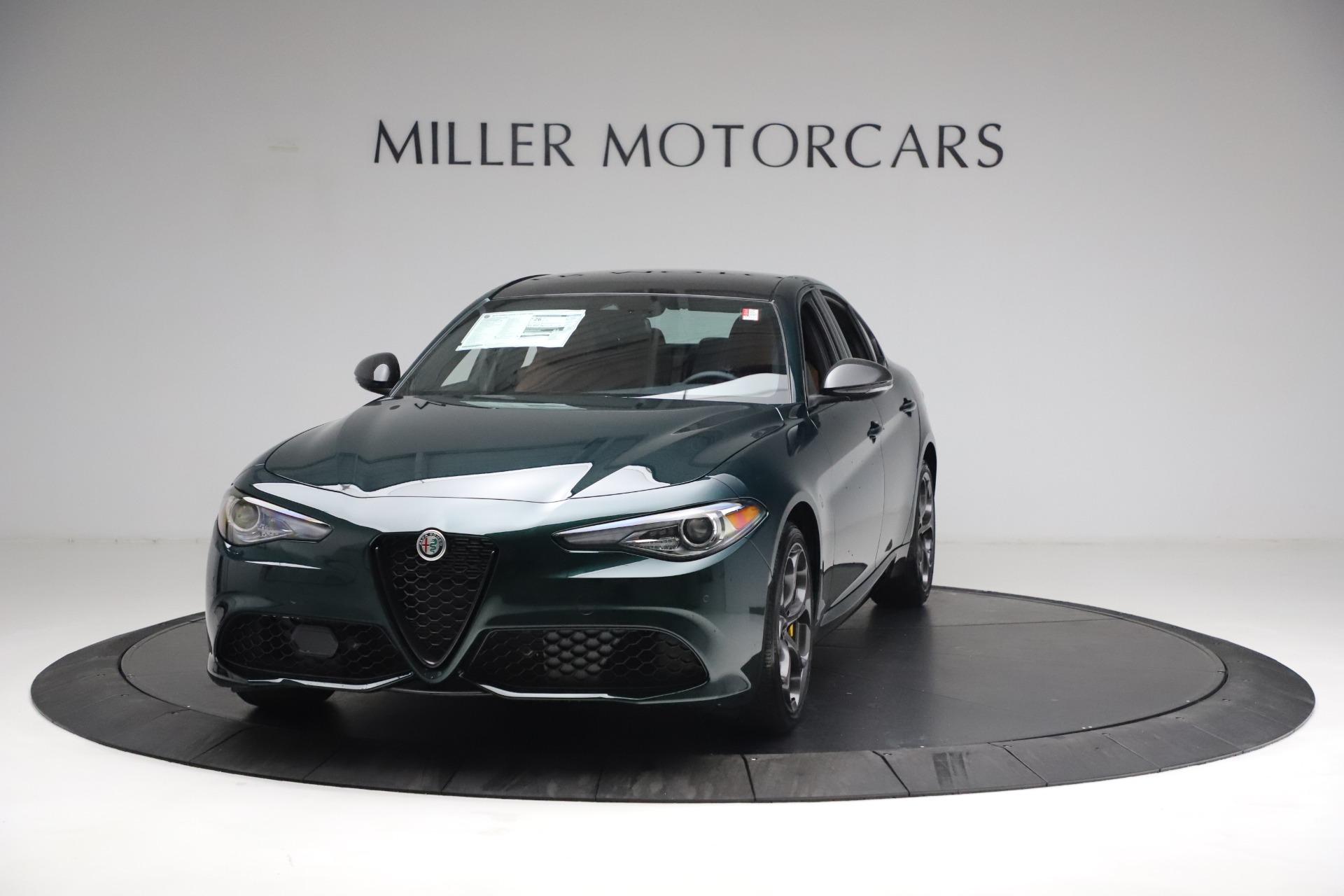 New 2021 Alfa Romeo Giulia Ti Sport Q4 for sale $54,050 at McLaren Greenwich in Greenwich CT 06830 1