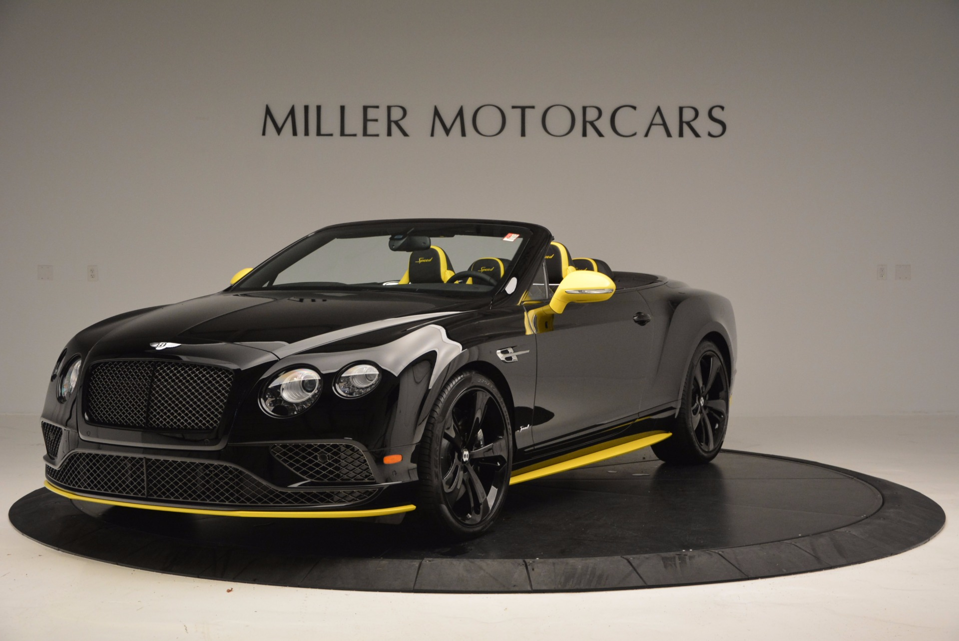 New 2017 Bentley Continental Gt Speed Black Edition Convertible Gt Speed For Sale Special Pricing Mclaren Greenwich Stock B1188