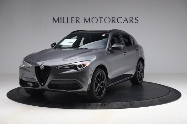 New 2021 Alfa Romeo Stelvio Ti Sport Q4 for sale $57,200 at McLaren Greenwich in Greenwich CT 06830 2