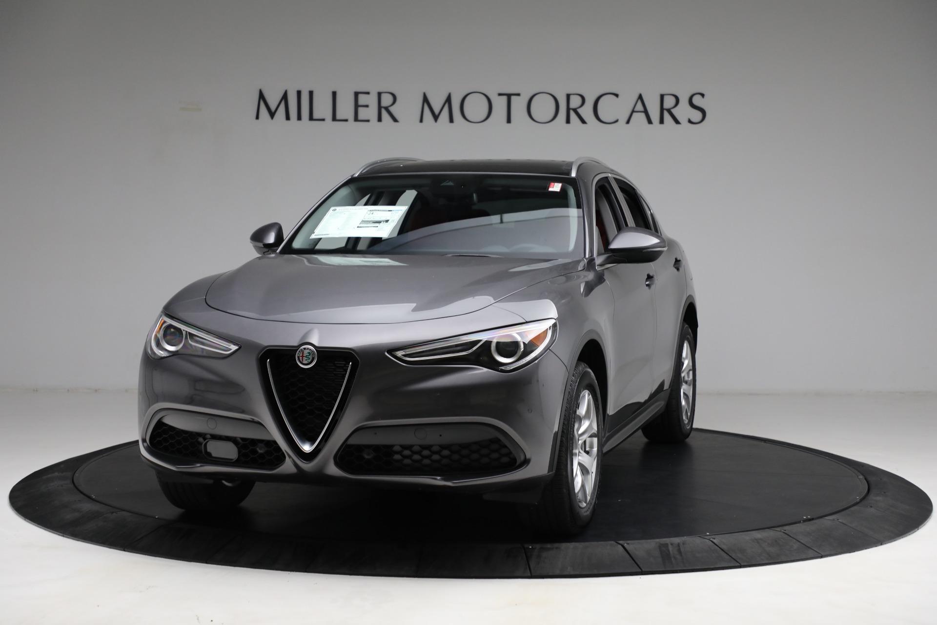 New 2021 Alfa Romeo Stelvio Q4 for sale $50,445 at McLaren Greenwich in Greenwich CT 06830 1