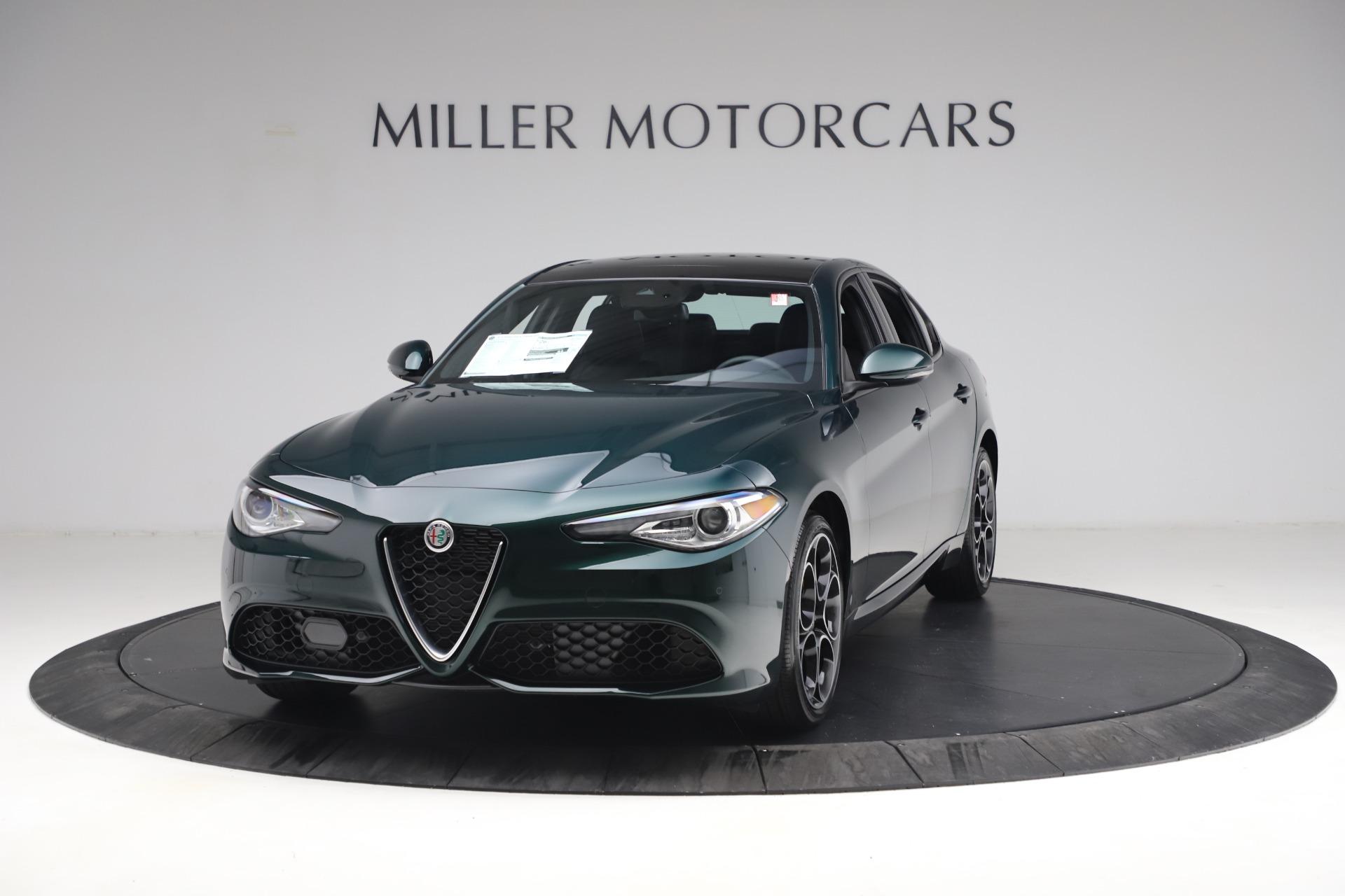 New 2021 Alfa Romeo Giulia Ti Sport Q4 for sale $53,050 at McLaren Greenwich in Greenwich CT 06830 1