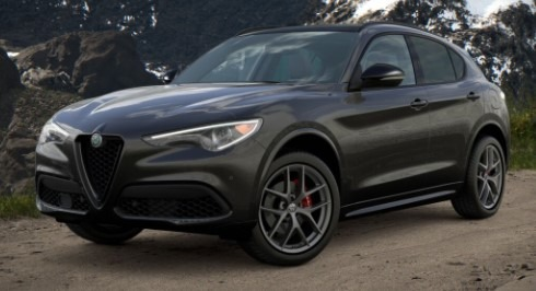New 2021 Alfa Romeo Stelvio Ti Sport Q4 for sale $57,200 at McLaren Greenwich in Greenwich CT 06830 1
